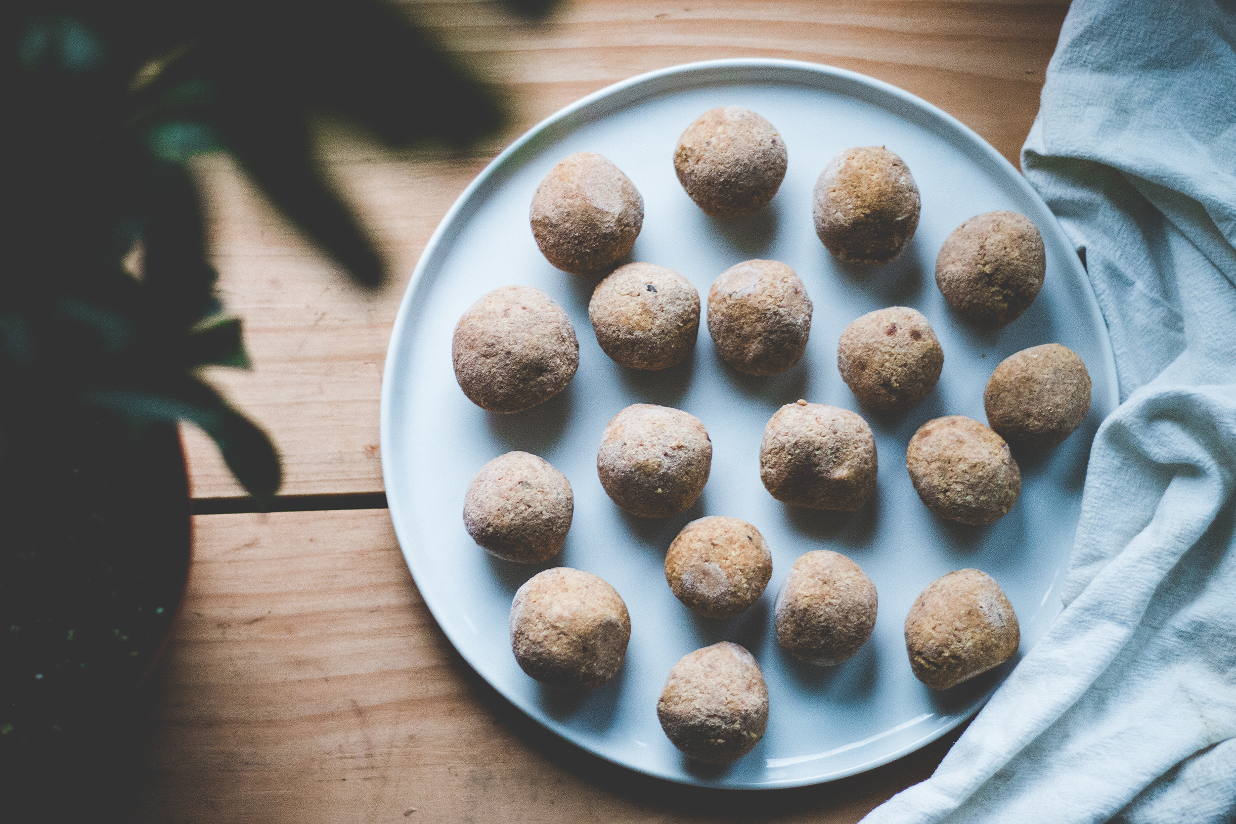 Pumpkin Fat Balls