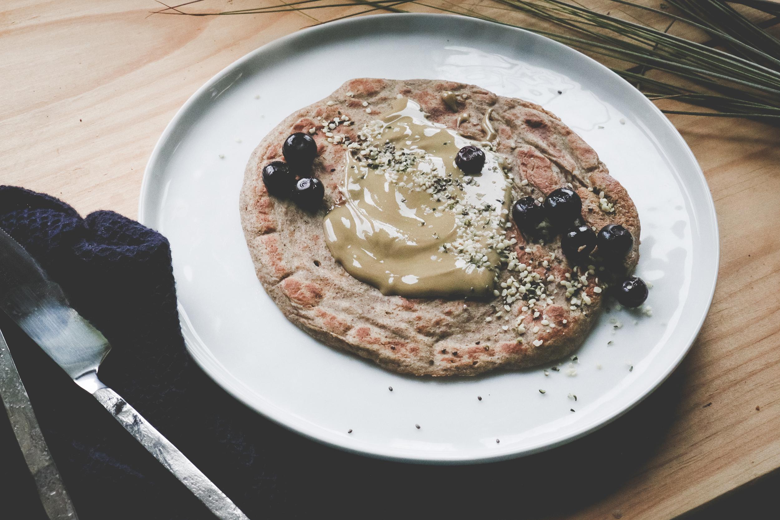 Warming Protien Pancakes