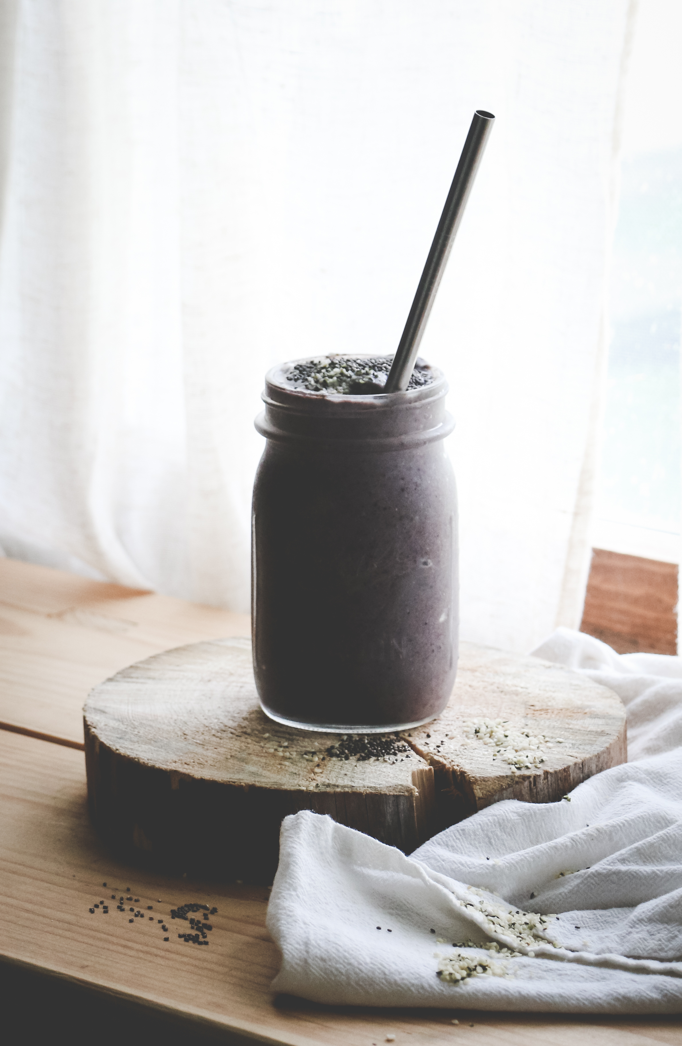 Blueberry-Cardamom Smoothie