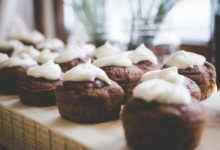 Spiced-Molasses Cupcakes with Maple-Cashew Frosting Recipe