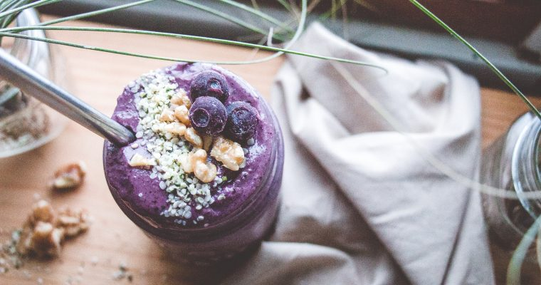 Blueberry-Walnut Smoothie