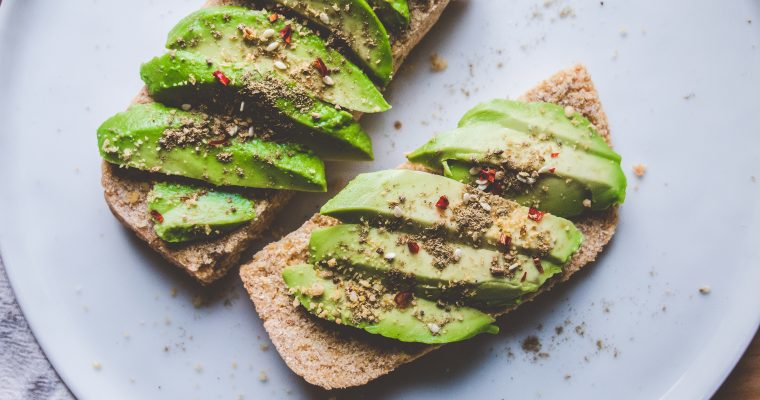 Gluten Free Avocado Toast with Za'atar