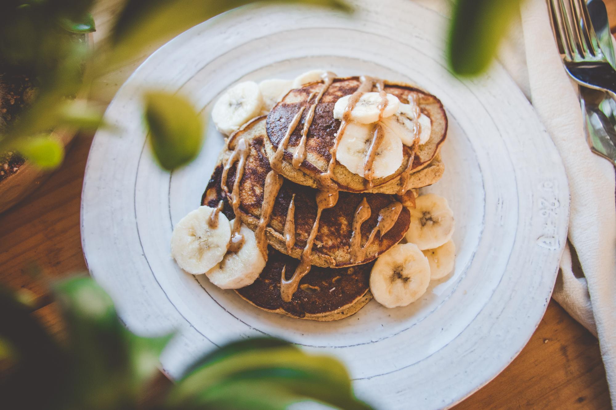 Blender Banana Pancakes