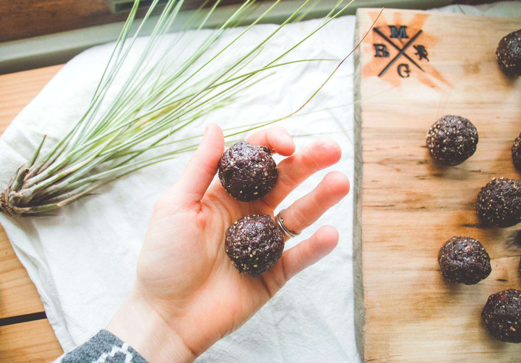 Brownie Fat Balls