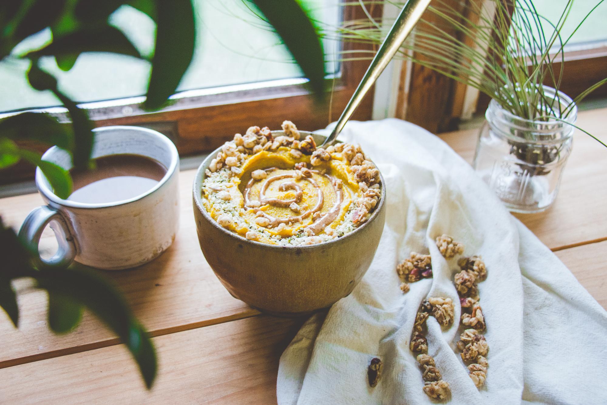 Golden Milk Smoothie Bowl