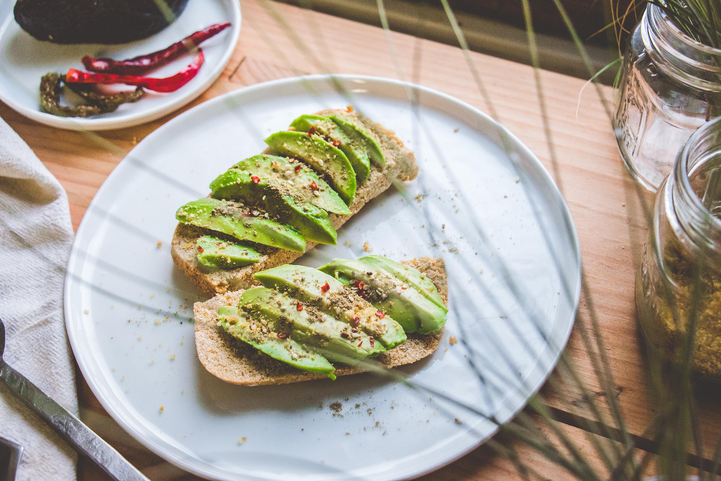 GF Avocado Toast with Za'tar