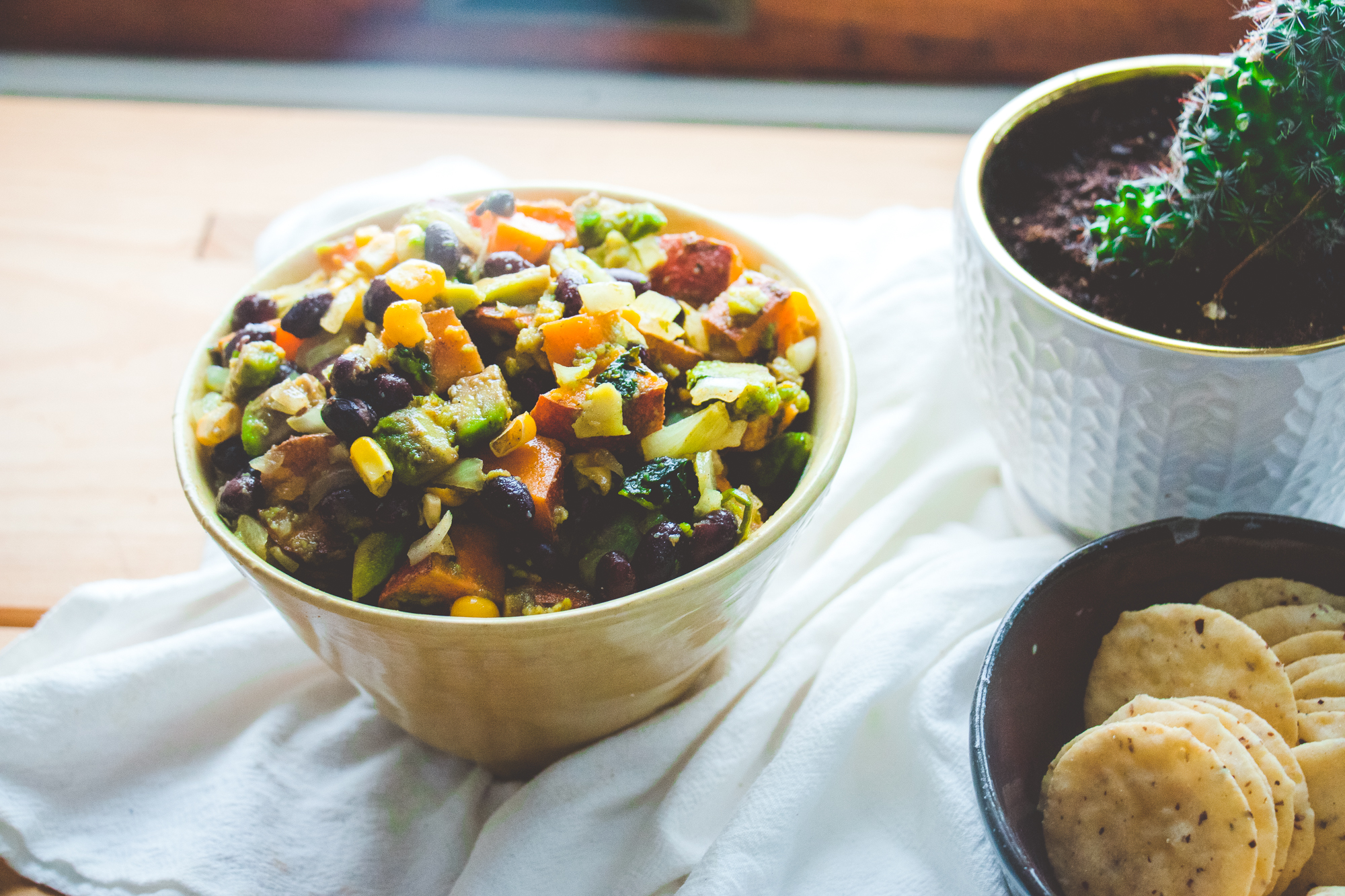 Southwest Sweet Potato Bowl