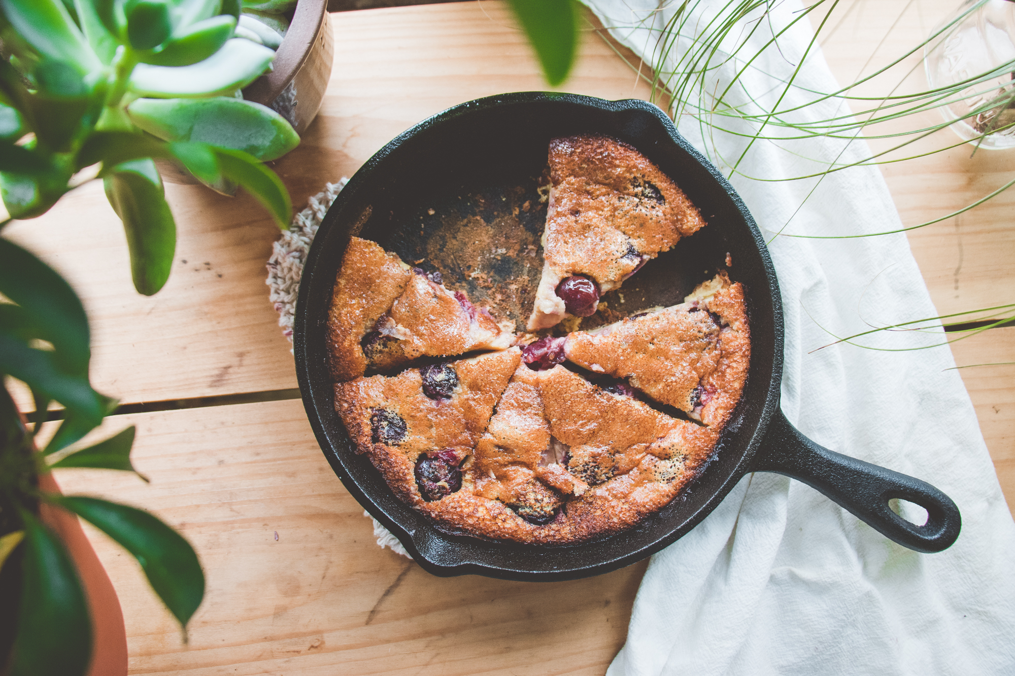 Cherry Dutch Baby