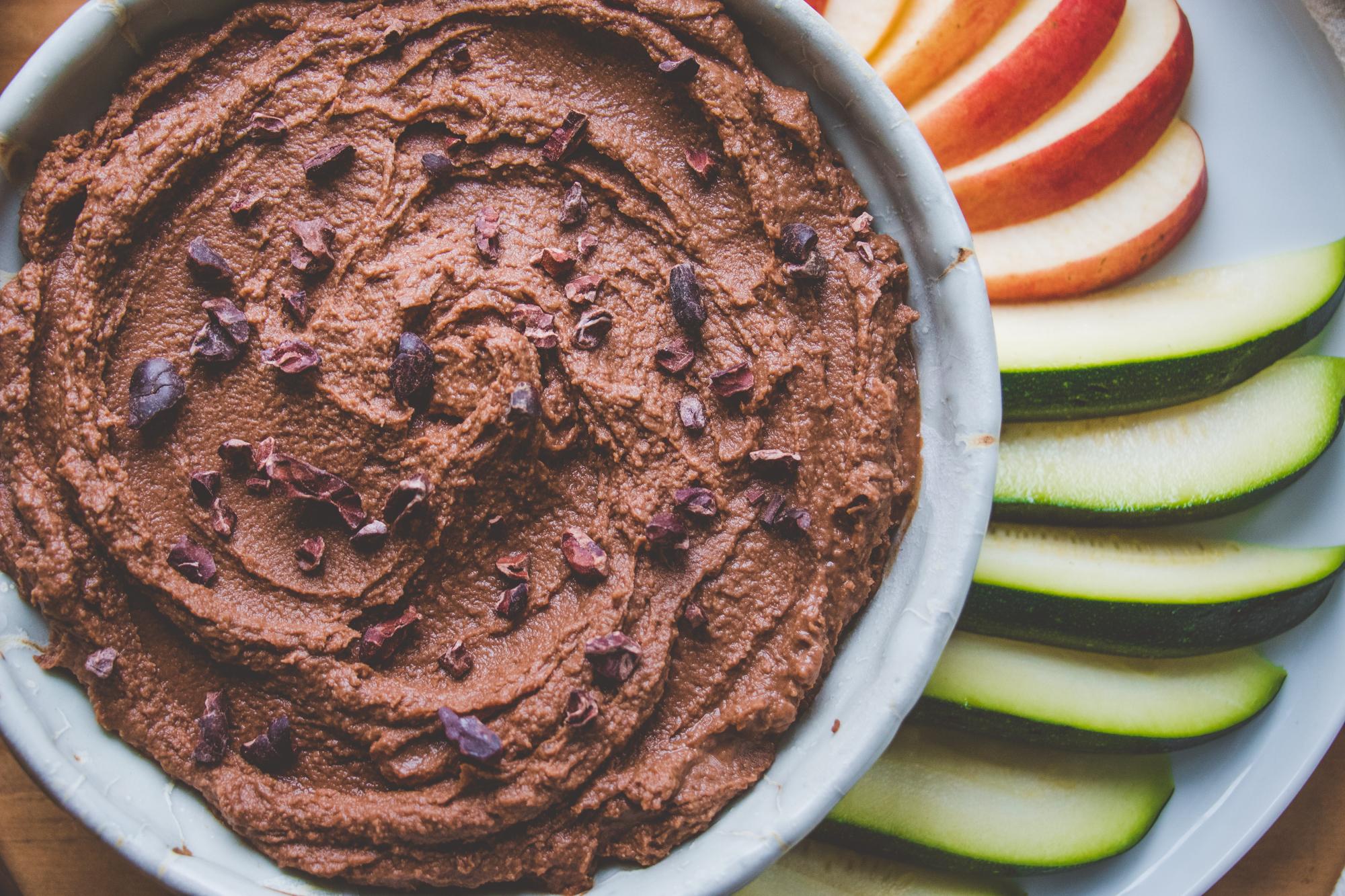 brownie batter hummus recipe